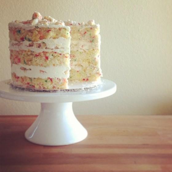 instagram confetti cake