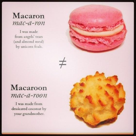 macaron v macaroon