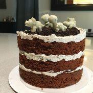Mr Eat's dino-mite birthday cake
