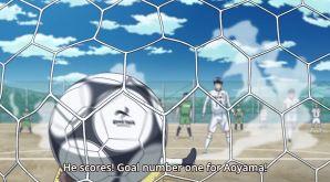 Aoyama first goal
