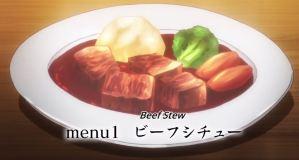 Isekai Shokudou Menu 1 Beef Stew