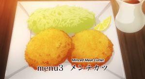 Isekai Shokudou Menu 3 Minced Meat Cutlet