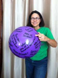 Ingleside Baptist Church, Macon, GA, donated this  ball for our ministry!