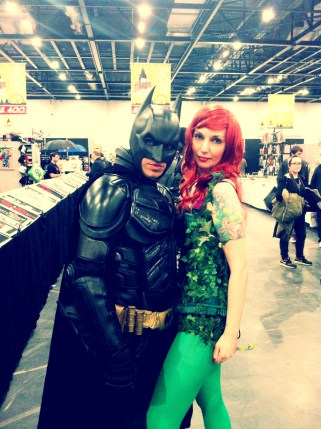 Batman and Poison Ivy at the LSCC