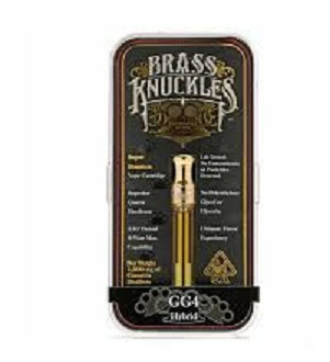 Buy GG4 Full Gram Brass Knuckles Vape Cartridge
