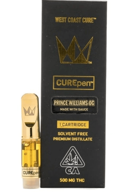 Buy Prince Williams OG West Coast Cure CUREpen Vape Cartridge Online