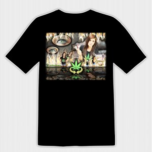 WC Fire T-Shirt @WeedConnection