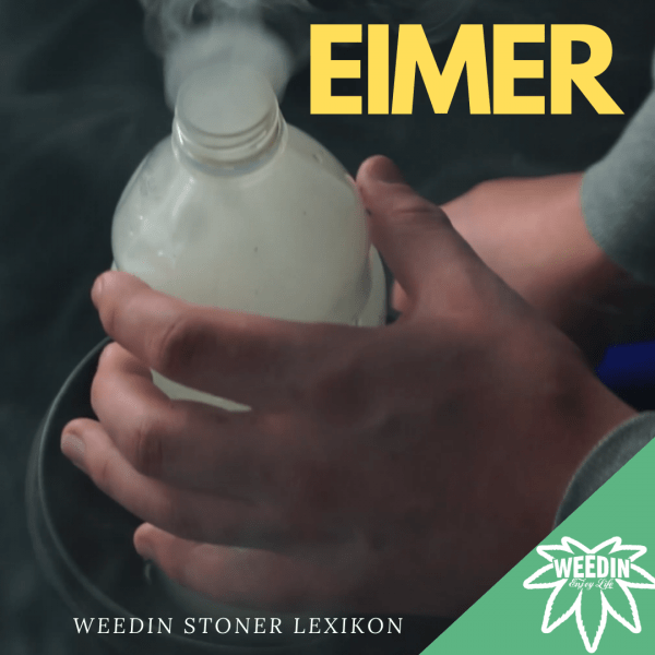 Cannabis Eimer aus einer Flasche, Eimer, Wasser und Alufolie Lexikon und zum selber machen
