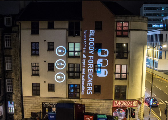 bloody_foreigners_projection_mapping_edinburgh