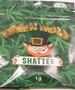 The Original Shatter - Green Gold