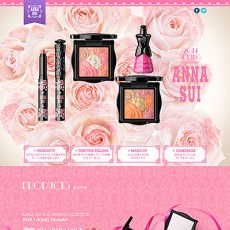 ANNA SUI Spring Collection Special Site Blushing Love