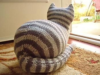 free cat knitting patterns # 84