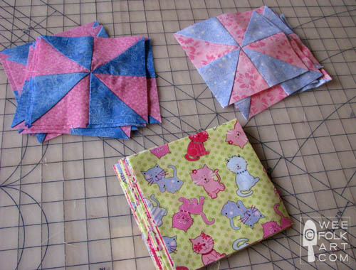 Pinwheel Quilt Part Two Assembling Your Quilt Wee