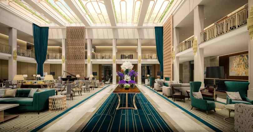 Lobby du TIvoli Avenida Liberdade - Hotel 5 etoiles - Lisbonne