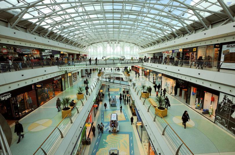Centre Commercial Vasco da Gama - Quartier Parque das Nacoes - Lisbonne