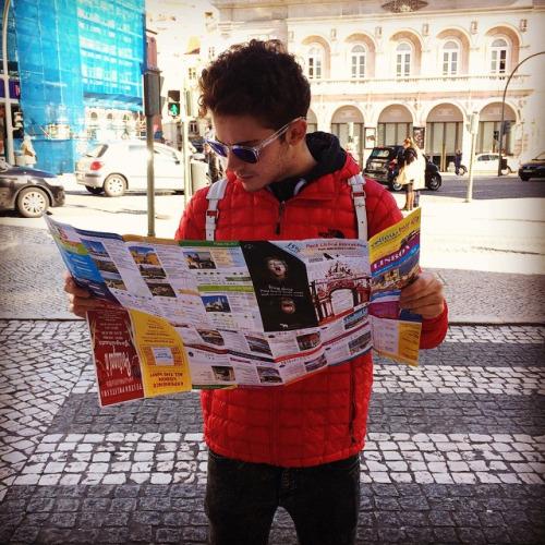 Touriste à Lisbonne