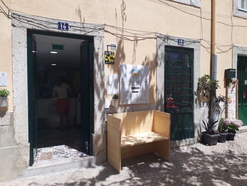 Boutique Gelato Davvero - quartier Mouraria - Glacier Lisbonne