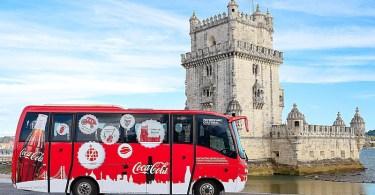 Minibus Gratuit Coca-Cola - Lisbonne