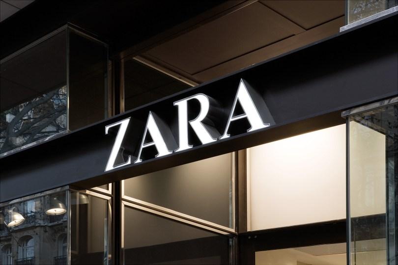 Enseigne Zara - Portugal