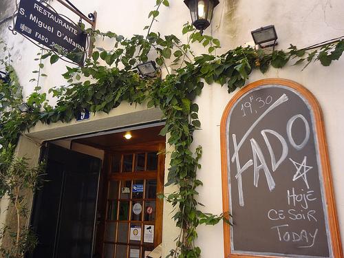 Restaurant de Fado Lisbonne