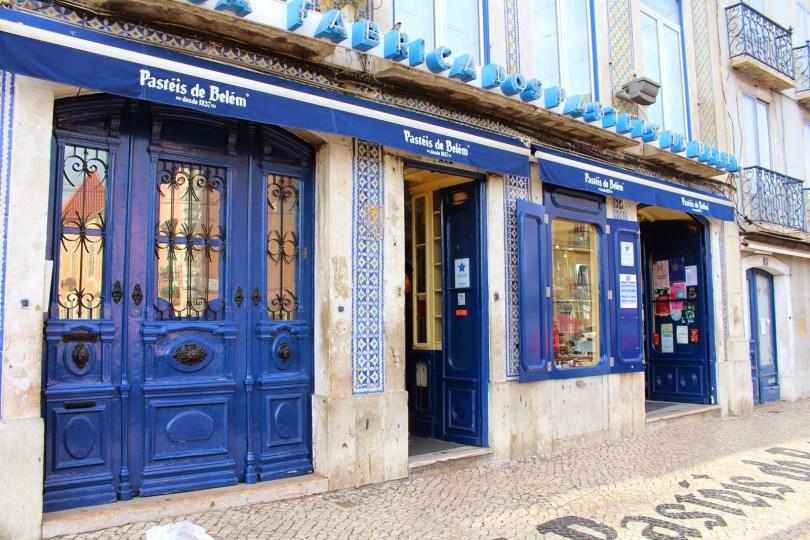 Boutique Pasteis de Belem - Lisbonne