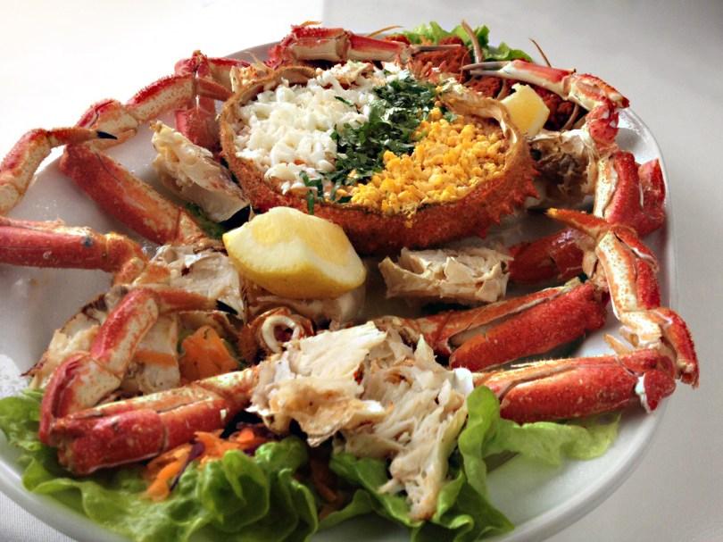 Crabe Farcie - Restaurant Ibo Marisqueira - Lisbonne
