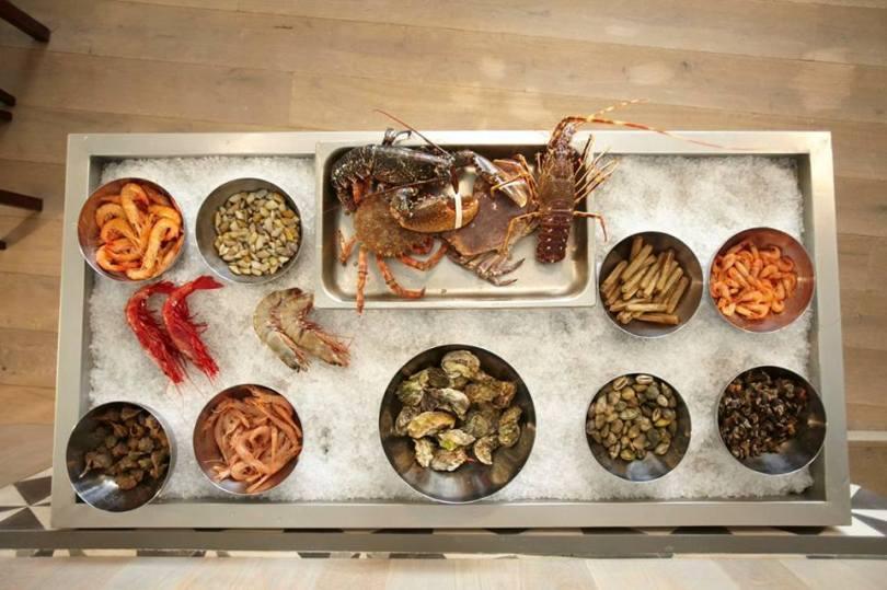 Crustacés Frais - Cervejaria do Bairro - Restaurant Lisbonne