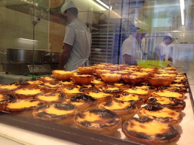 Pasteis de Nata - Manteigaria Camoes - Lisbonne