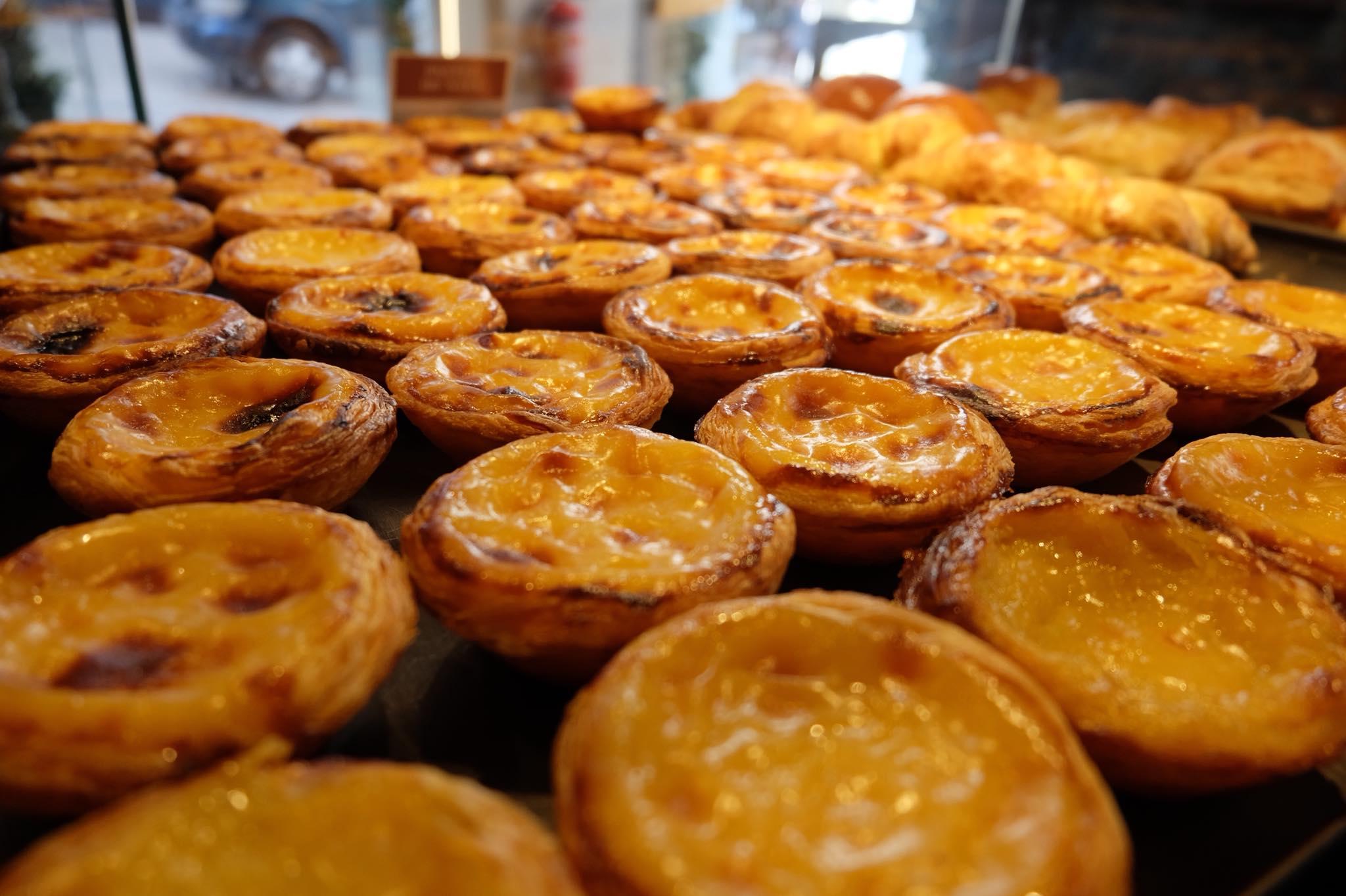 Pastéis de nata de la Pastelaria Alcôa de Lisbonne