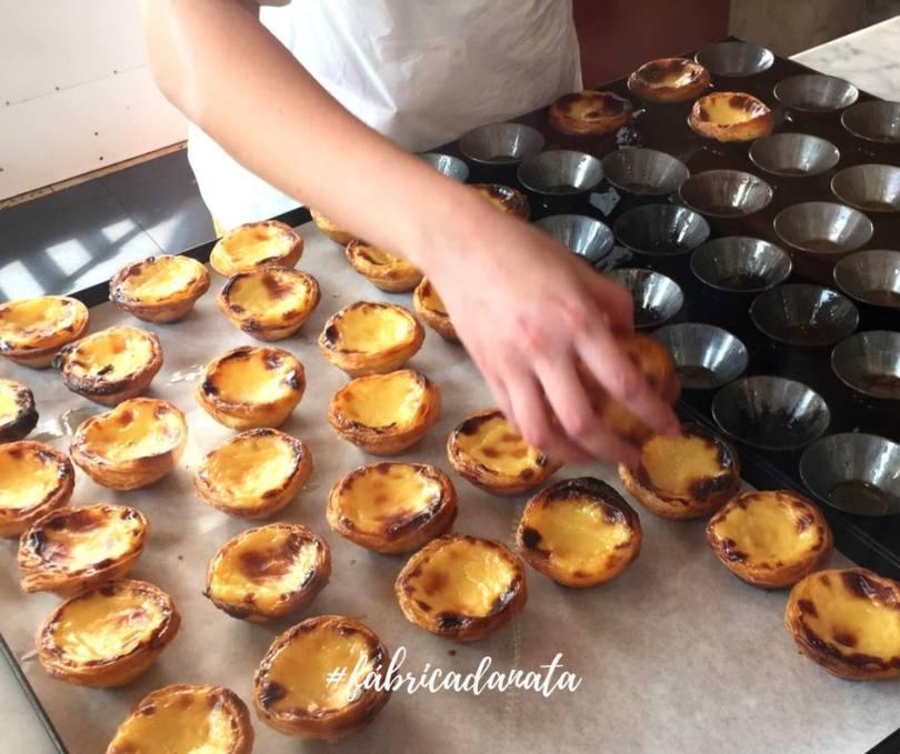 pasteis de nata - fabrica da nata - boutiques centre de lisbonne - baixa