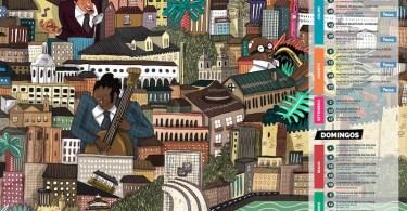 Affiche Out Jazz Festival 2016 - Lisbonne