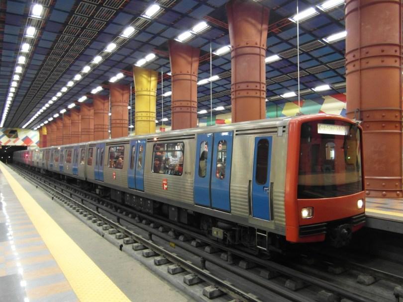 Rame de Métro de Lisbonne