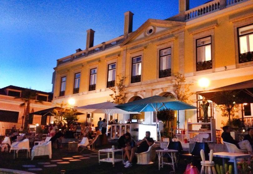 Restaurant Pharmacia - Terrasse - Lisbonne