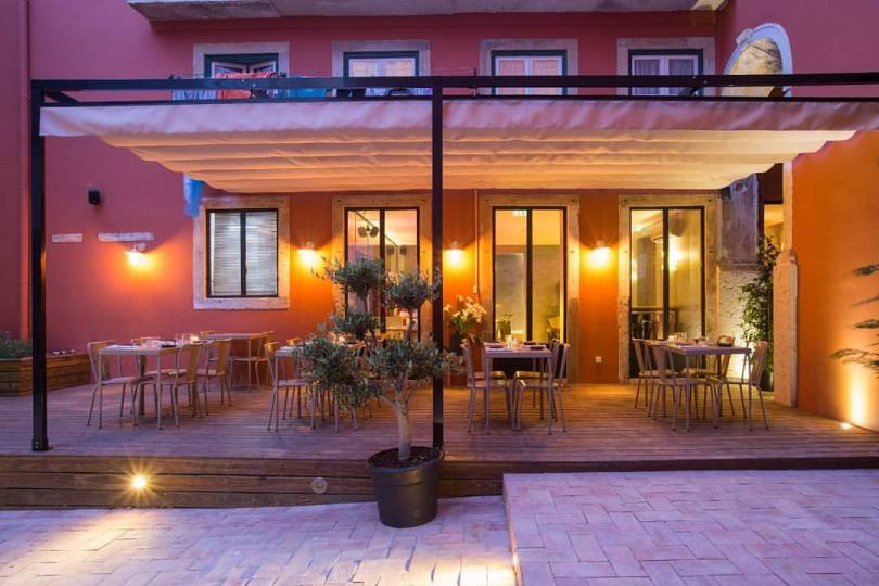 Terrasse Restaurant Lisbonne - Boca Cafe
