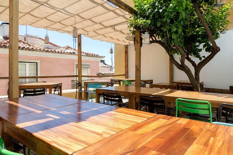 Terrasse Restaurant Lisbonne - Santa Bica