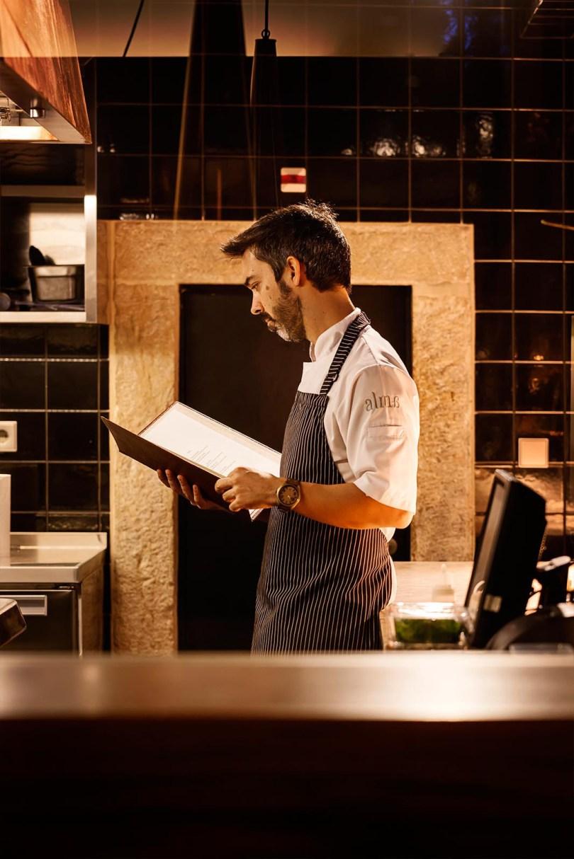Henrique Sa Pessoa - Chef 1 etoile Michelin - Lisbonne