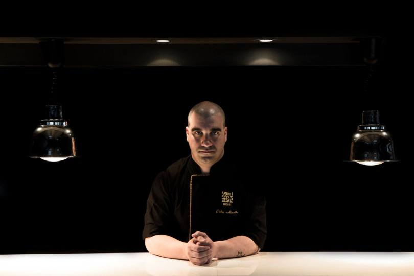 Pedro Almeida - Chef 1 etoile Michelin du restaurant Midori du Penha Longa Resort - Sintra - Lisbonne