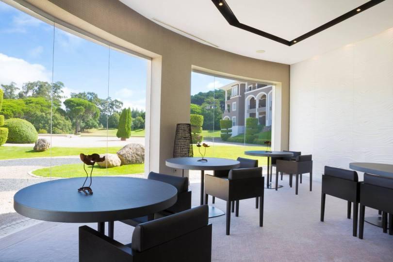 Salle du restaurant Midori - cuisine japonaise - 1 etoile Michelin - Sintra - Lisbonne