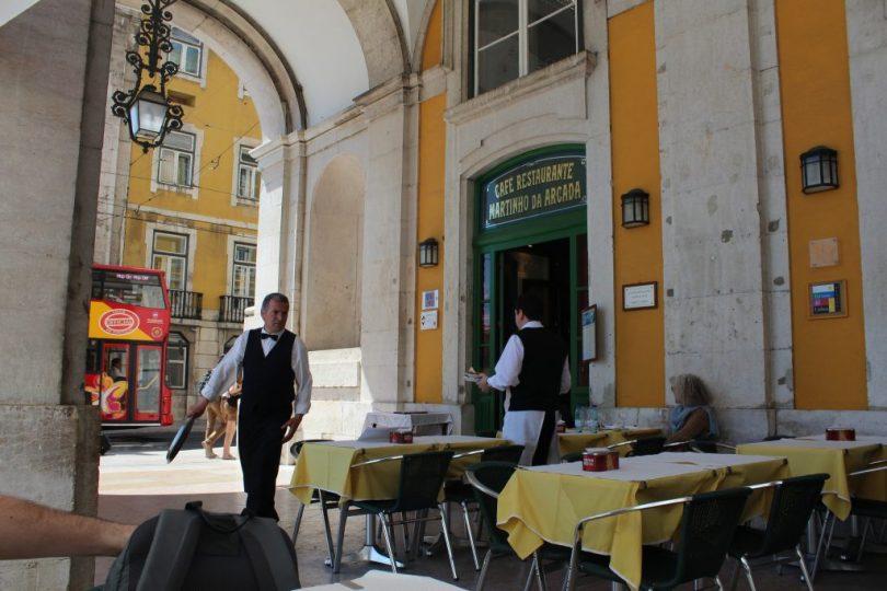 Cafe Martinho da Arcada - plus vieux cafe de Lisbonne
