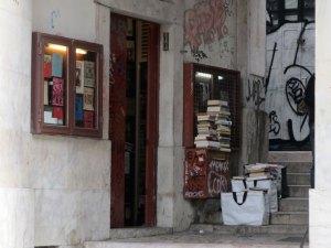 Livraria Simao - plus petite libraririe du monde - Lisbonne