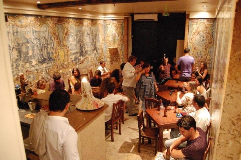 Mesa de Frades - Restaurant Fado - Alfama - Lisbonne
