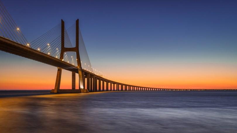 Pont Vasco de Gama - Lisbonne - Plus long pont Europe