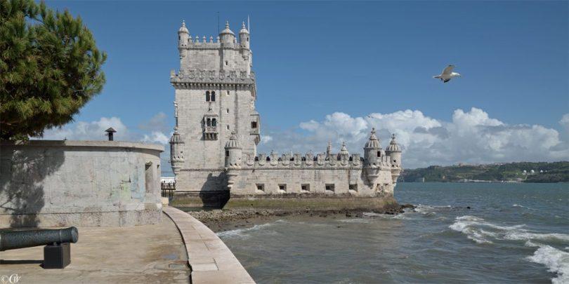 Torre de Belem - Tour de Belem au bord du Tage - Lisbonne