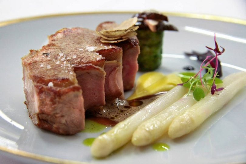 Plat de Pascal Meynard - Restaurant Varanda - Four Seasons Ritz - Lisbonne