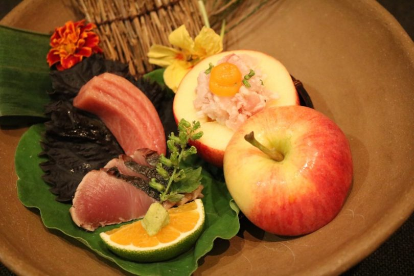 Plat du Chef Tomoaki Kanazawa - Restaurant Kanazawa - Lisbonne