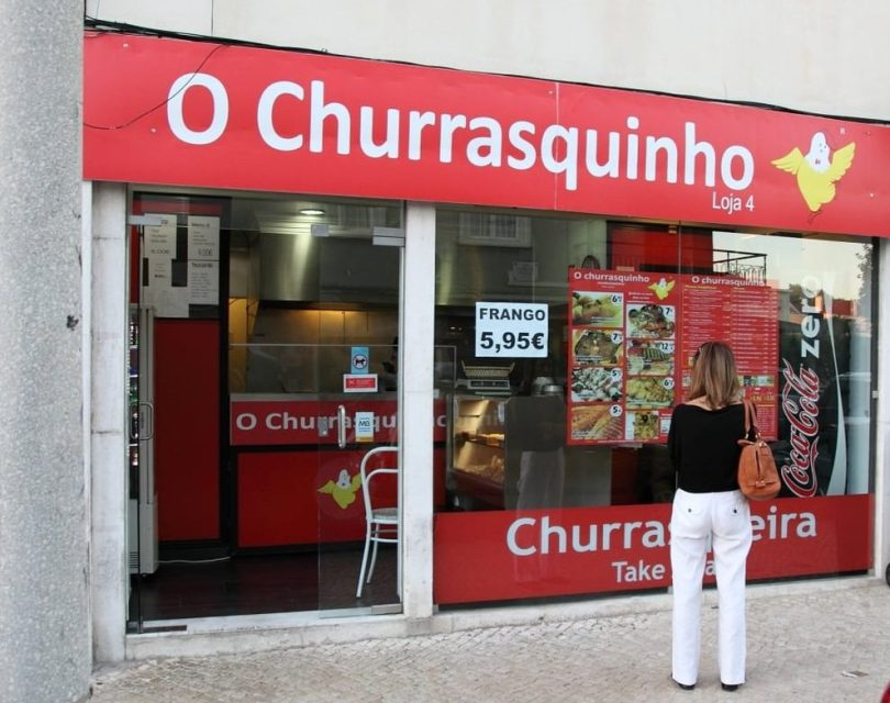 O Churrasquinho - Poulet grille a emporter - Lisbonne