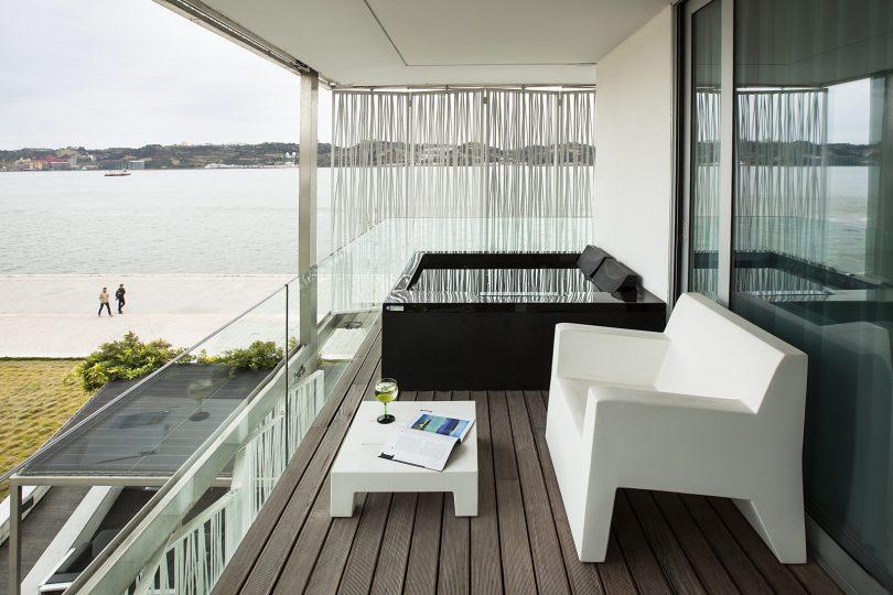 Altis Belem Hotel Spa - Suite avec balcon et Jacuzzi Prive - Hotel Lisbonne