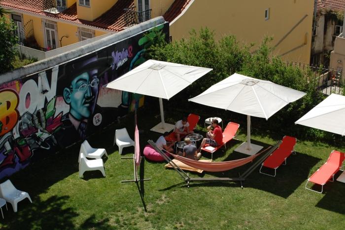 Lisb On Hostel - Jardin - Auberge de jeunesse Lisbonne