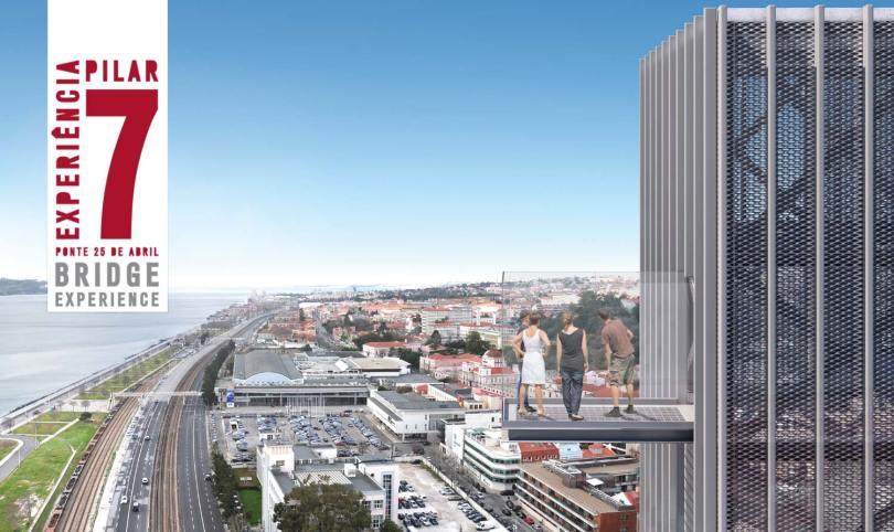 Pilar 7 - Vue sur Lisbonne depuis le Pont 25 Avril