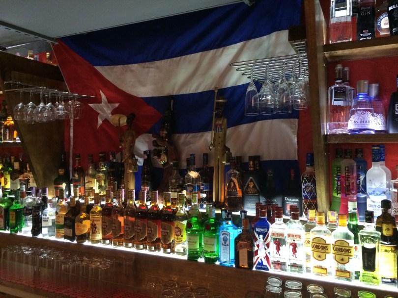 Bar Ache Cohiba - Bar cubain - Bairro Alto - Lisbonne